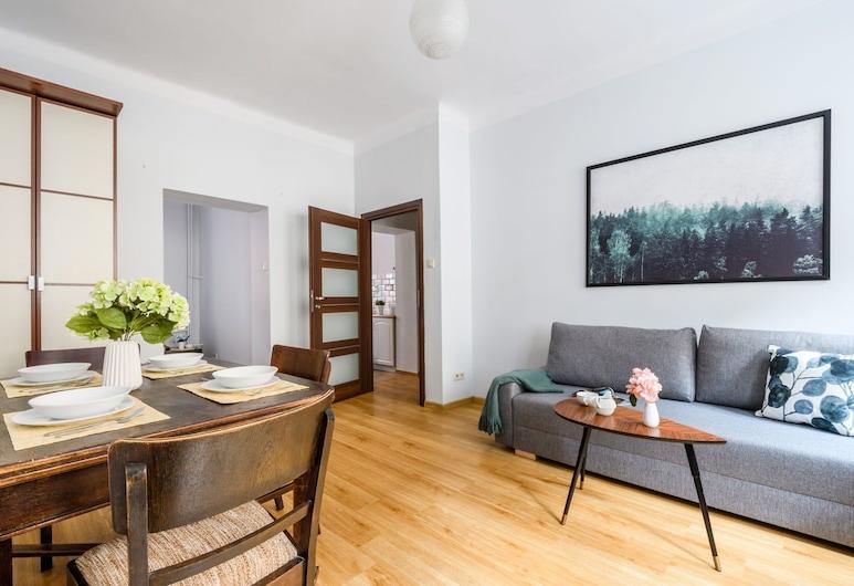 P&O Apartments Plac Zamkowy, Warszawa, Lägenhet Economy, Vardagsrum