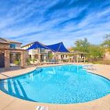 舒適獨棟房屋, 多張床, 非吸煙房, 泳池景觀 - 室外游泳池