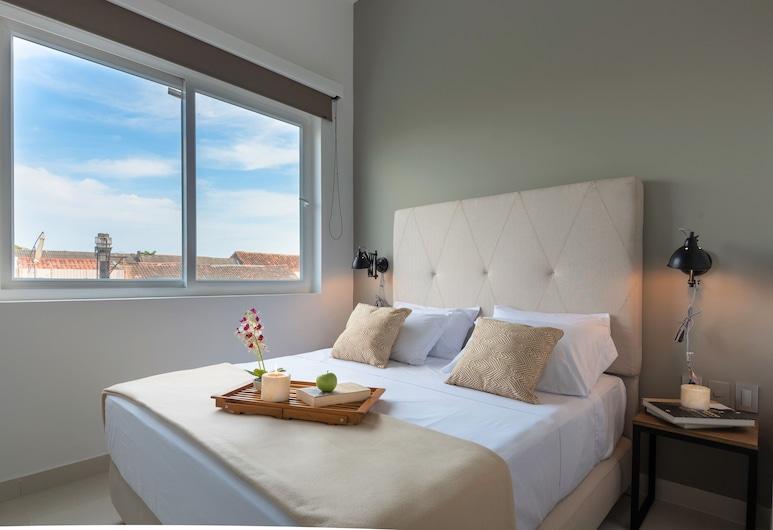 加嫩生活套房酒店, 喀他基那, 豪華套房, 1 張加大雙人床及 1 張梳化床, 非吸煙房, 城市景, 客房