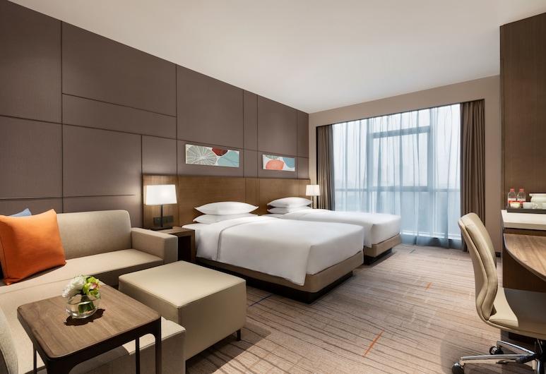 Hyatt Place Changsha Meixihu, צ'אנגשה, חדר (2 Twinbed & 1 Sofabed), חדר אורחים