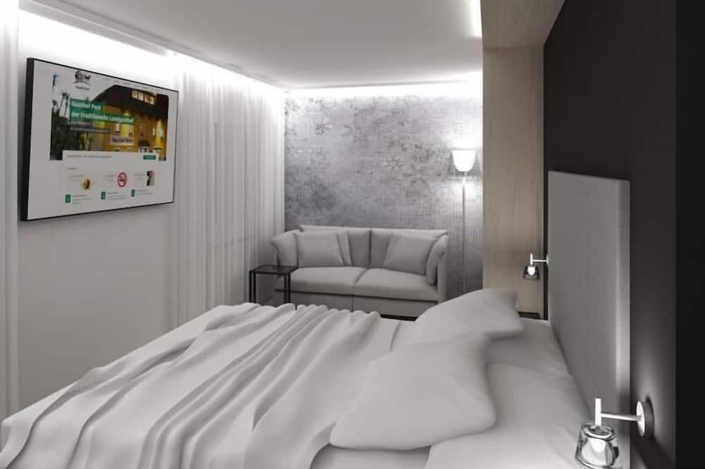 Exclusive-Doppelzimmer, 1King-Bett, Nichtraucher - Badezimmer