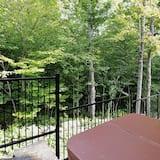 Faház, több ágy, kilátással a hegyre (22) - Saját pezsgőfürdő