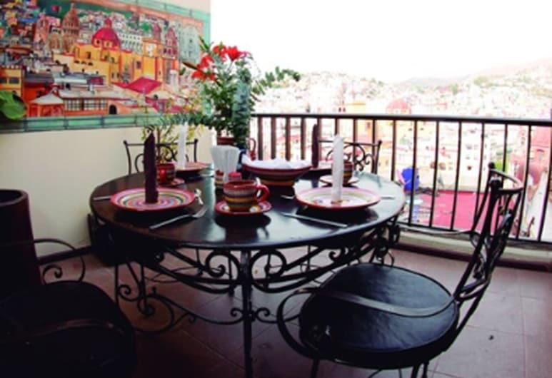 Hotel Chocolate, Guanajuato, Obiekty restauracyjne na zewnątrz
