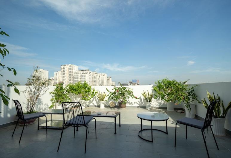 パークヒル ホテル & アパートメント, ホーチミン, テラス / パティオ