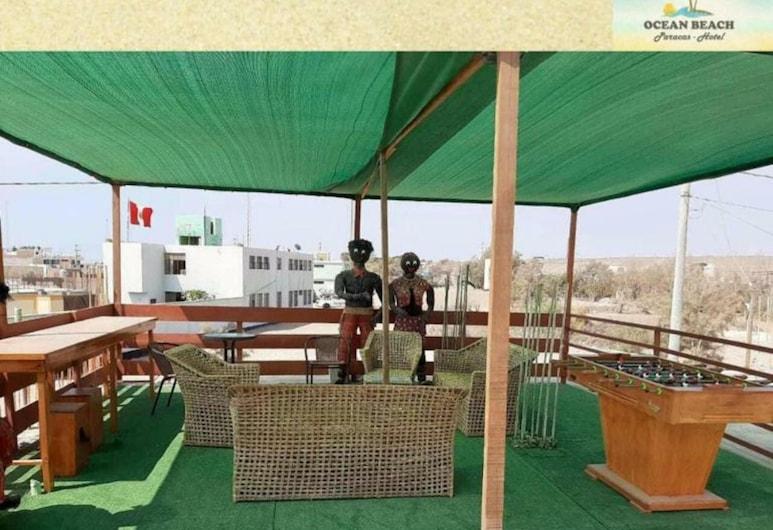 Hotel Ocean Beach Paracas , פרקס, מרפסת/פטיו