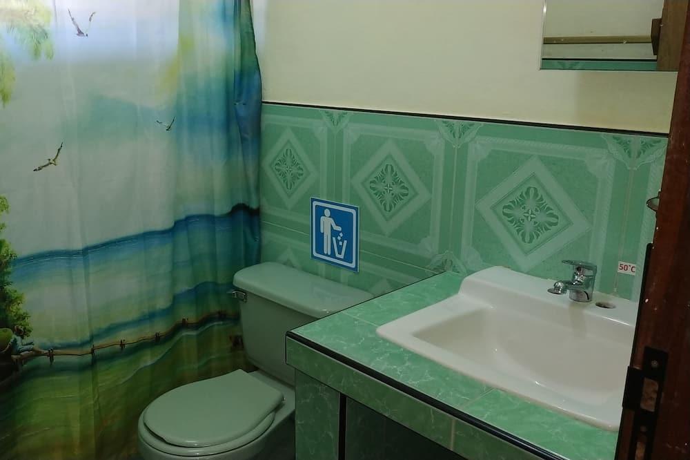 Comfort Triple Room, Multiple Beds, Accessible, Smoking - Bathroom