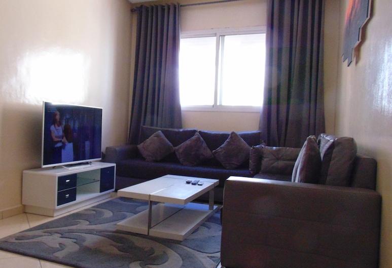Suite Apartment Fawzi, Agadir, Apartamento City, 2 habitaciones, accesible para personas con discapacidad, no fumadores, Zona de estar