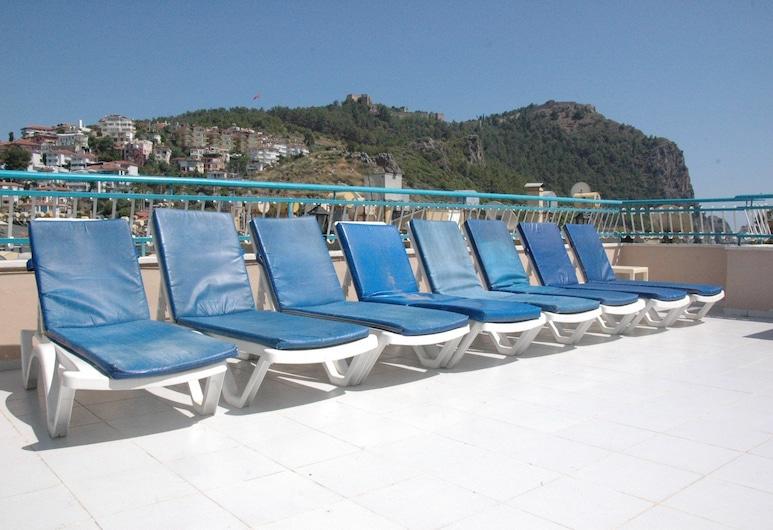 Alanya Sunway Hotel, Alanya, Teras/Veranda