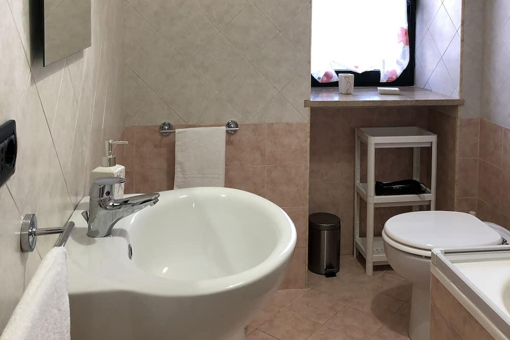 雙人房, 共用浴室 (Azzurra) - 浴室