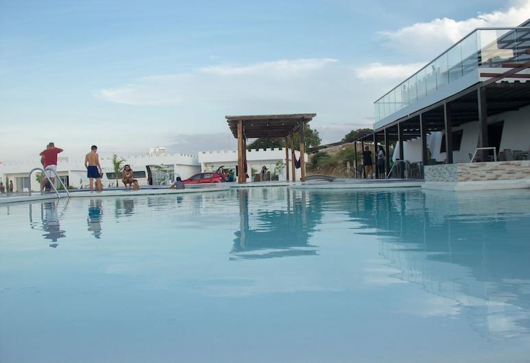Castillo del Mar Suites, Ріоача, Сімейний номер, Вид з балкона