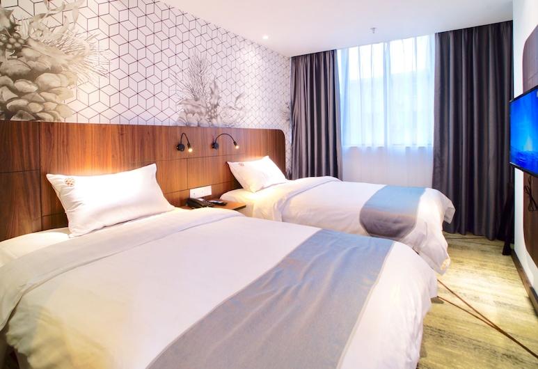 Guangzhou Pinecone & Huayi Select Hotel, Guangzhou, Premium Twin kamer, Kamer