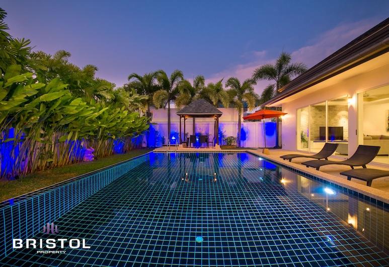 现代卡马拉 3 房游泳池别墅酒店, 卡马拉, 3 Bedrooms Pool Villa, 私人泳池