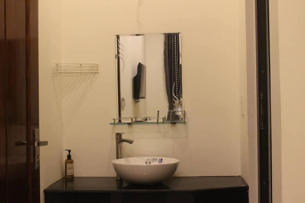 ห้องดีลักซ์ดับเบิล, วิวสวน - อ่างล้างมือ