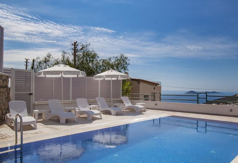 Villa Esya 1 by Akdenizvillam, Kaş, Açık Yüzme Havuzu