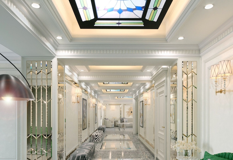 Ganjali Plaza Hotel, Baku, Living Area