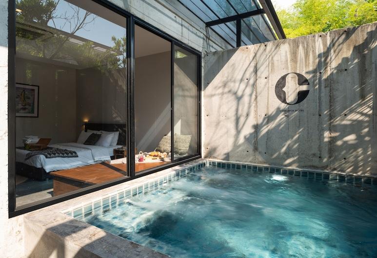 Cherlock Hotel, Chiang Mai, Pool Junior Suite, Herbergi