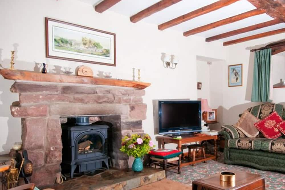The Old Shippon (Twin Room) - Living Area