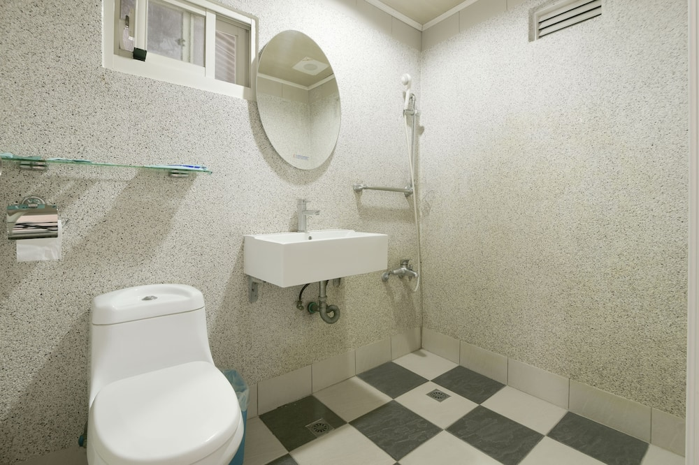Economy tweepersoonskamer, 1 tweepersoonsbed, niet-roken - Badkamer
