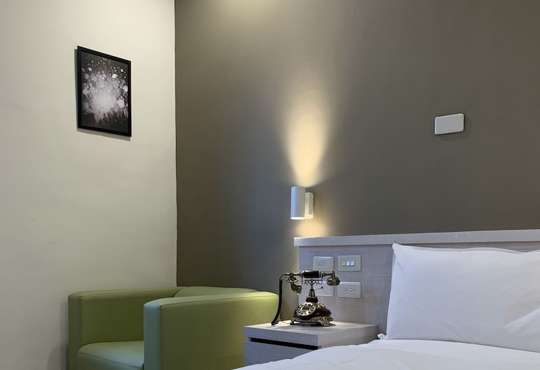 Raise Hotel Taichung, Taičungas, Standartinio tipo dvivietis kambarys, 1 standartinė dvigulė lova, Nerūkantiesiems, Svečių kambarys