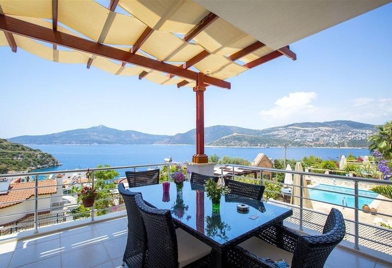 Villa Gulbay by Akdenizvillam, Kas, Villa, 3Schlafzimmer, Balkon