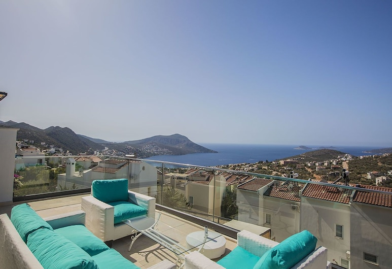 Villa Hilal by Akdenizvillam, Kas, Villa, Terrass