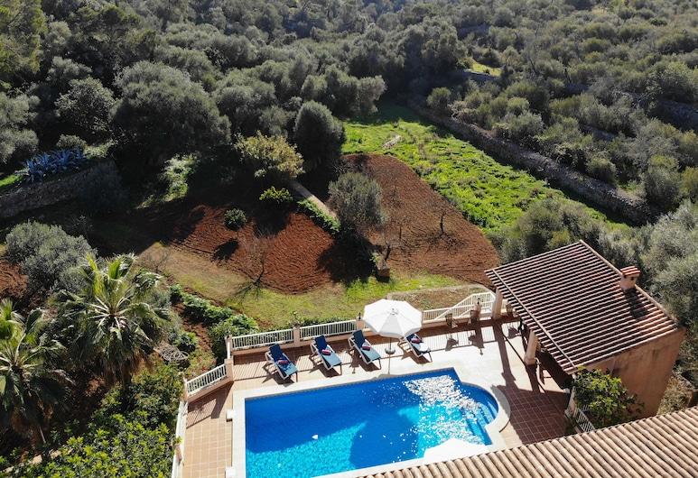 Villa Es Recer, Santany, Luftfoto