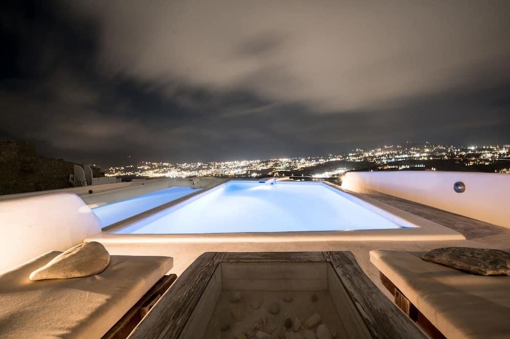 Villa, 4 habitaciones, piscina privada - Piscina privada