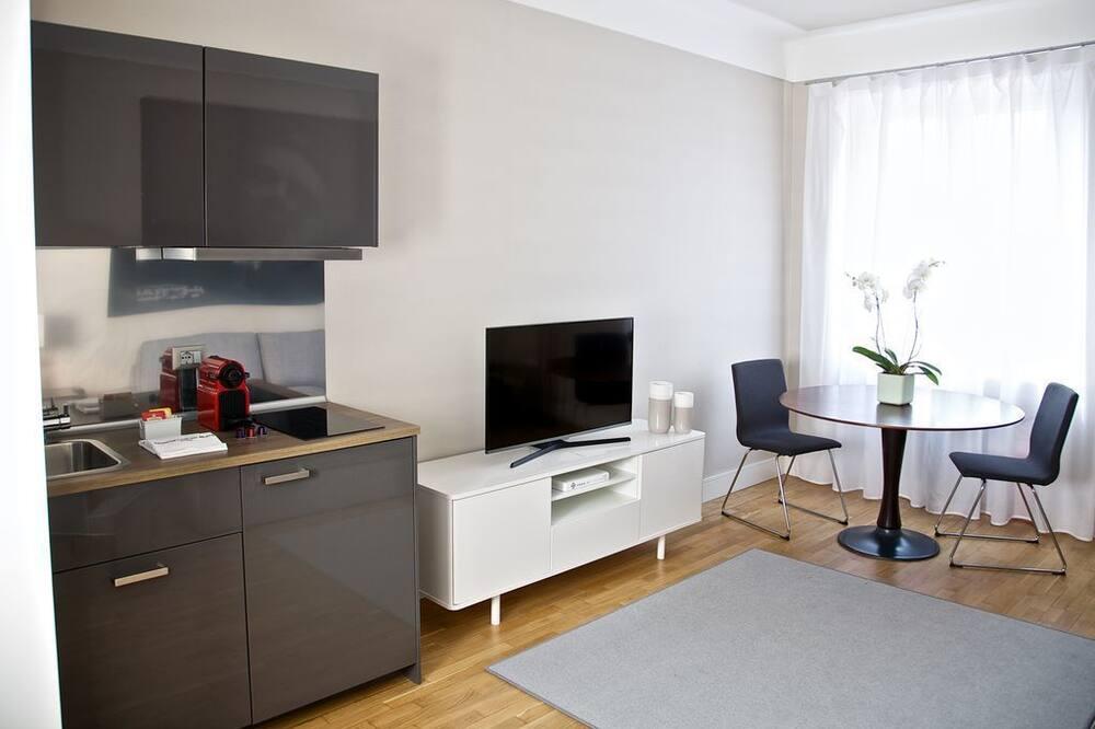 デラックス アパートメント 2 ベッドルーム (501) - リビング エリア