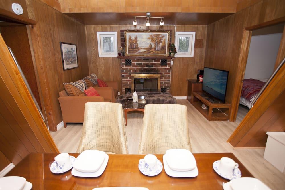 Rodinný rekreační domek, nekuřácký - Obývací prostor
