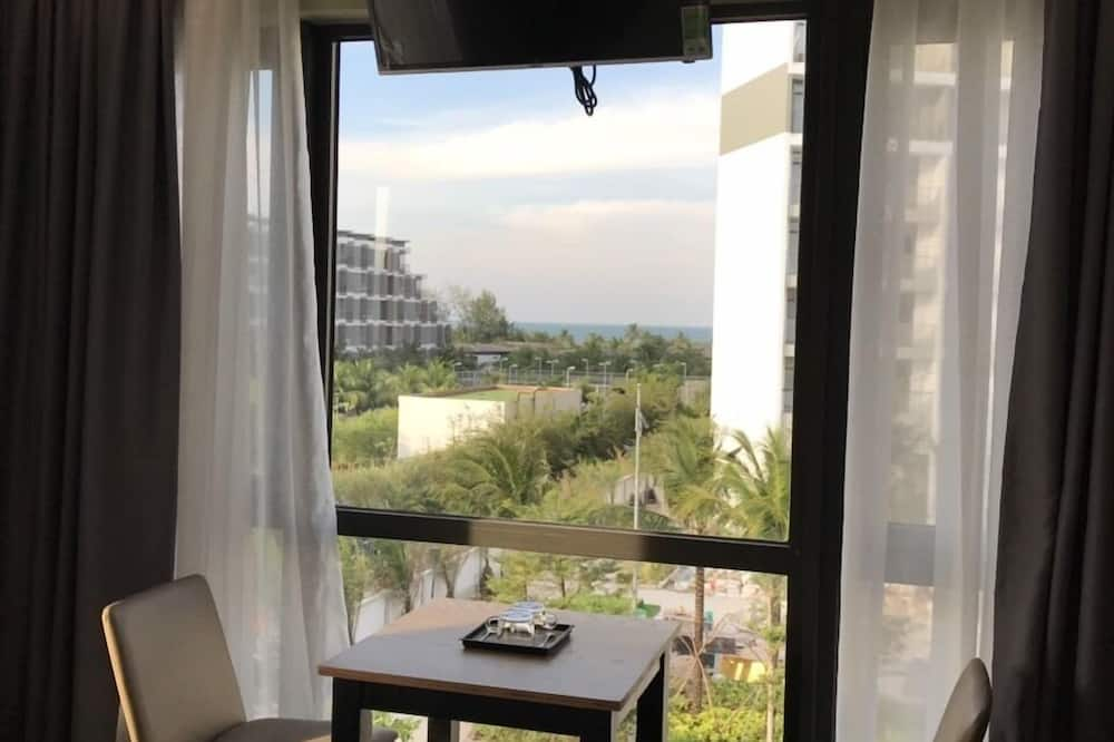 高級雙人房, 陽台, 海景 - 沙灘/海景