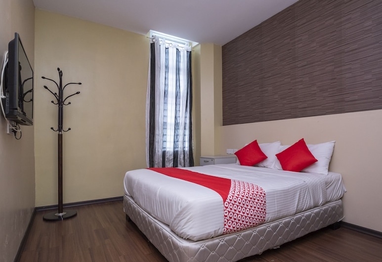 OYO 614 D'Pinetrees Hotel, Johor Bahru, Kamar Double Deluks, 1 Tempat Tidur Double, non-smoking, Kamar Tamu