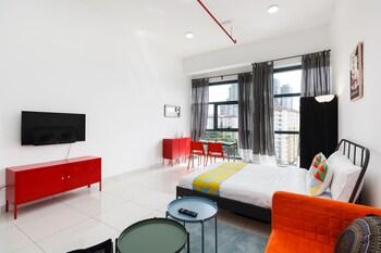 吉隆坡OYO 553 之家 3 塔開放式公寓飯店的相片