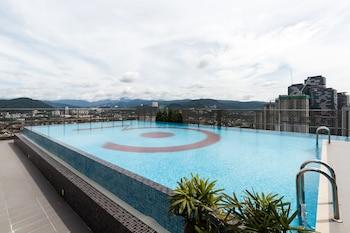 吉隆坡OYO 592 寬敞開放式公寓之家飯店 - 近蘇里亞吉隆坡中城的相片
