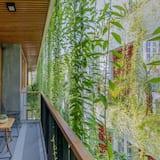 高級開放式客房, 陽台, 泳池景觀 - 陽台