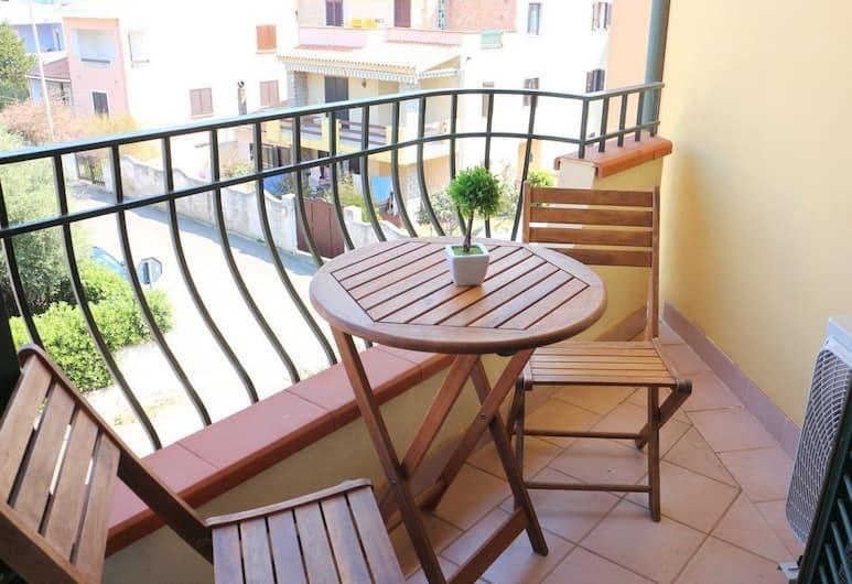 تيبولا ريزورت, سانتا تريزا دي غالورا, شقة - غرفة نوم واحدة, شُرفة