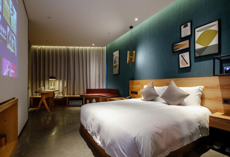 上海雲隱行旅美學酒店, 上海市,  臻雅大床房, 客房