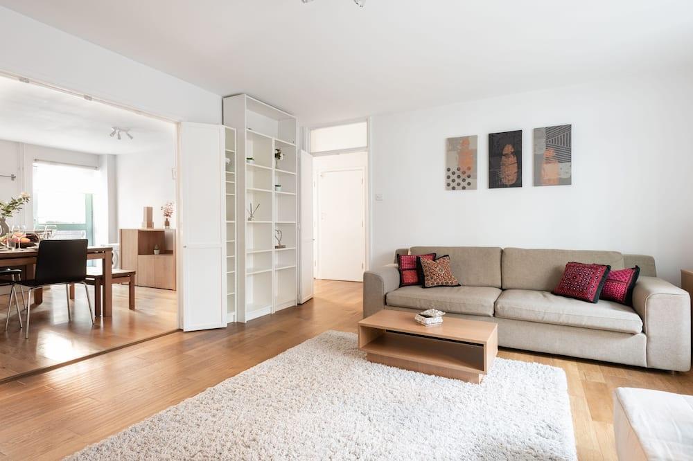 家庭公寓, 2 間臥室, 非吸煙房, 露台 - 客房