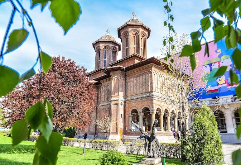 جراند أكوموديشن أبارتمنتس, بوخارست, في المنطقة الخارجية