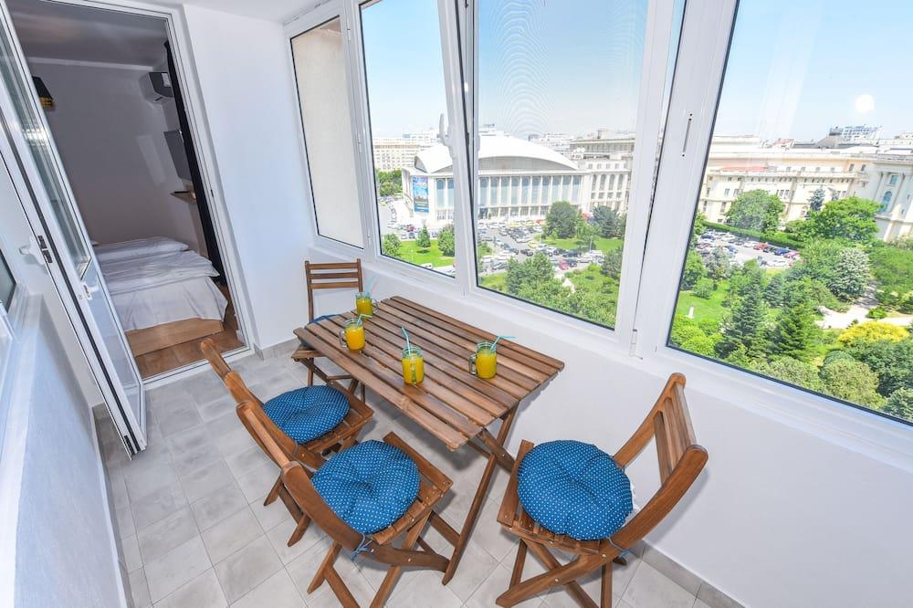 Deluxe Apartment, 2 Bedrooms (Elite Apartment - Cismigiu Gardens) - Balkoni