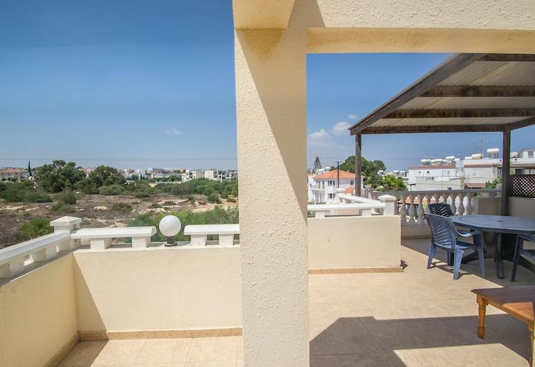 Eleni's Two Bedroom Kapparis Apartment, Paralimni, Apartamentai su pagrindiniais patogumais, Balkonas