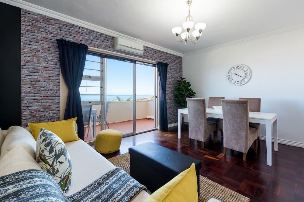 Apartmán typu Premier, 2 ložnice, nekuřácký, výhled na pláž - Obývací pokoj