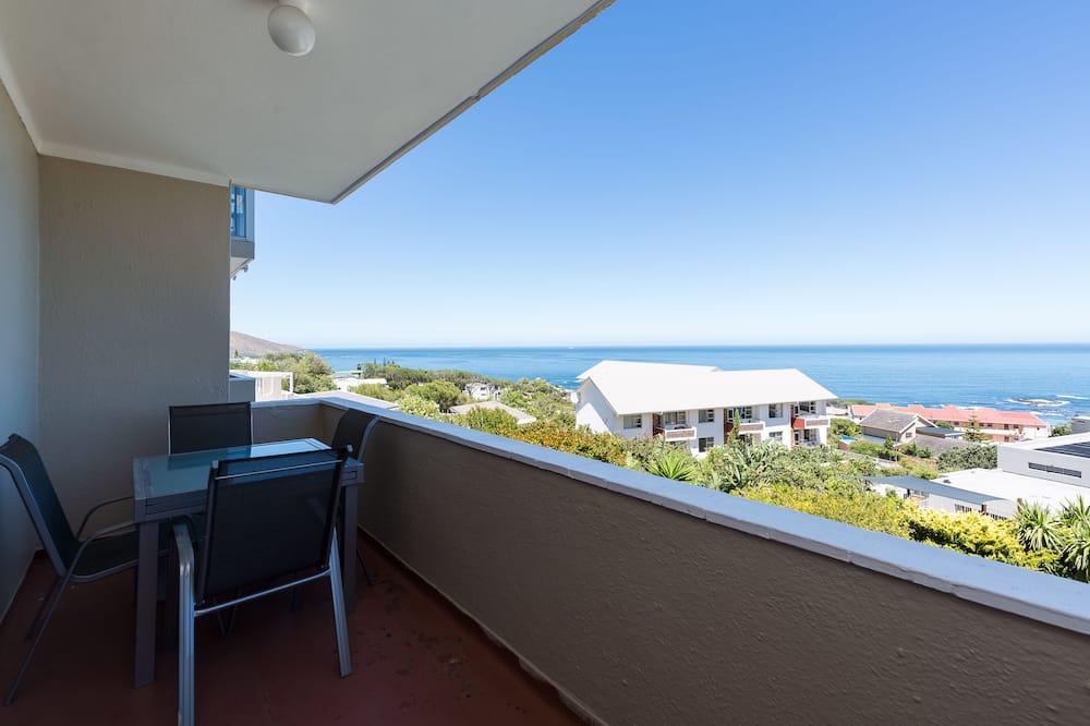 Apartmán typu Premier, 2 ložnice, nekuřácký, výhled na pláž - Balkón
