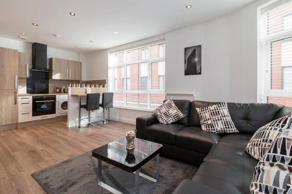Lägenhet City - 2 sovrum - Bild