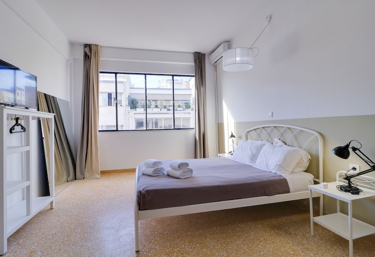 athens.apartotel.1, Athens, Apartment, Multiple Beds, Room