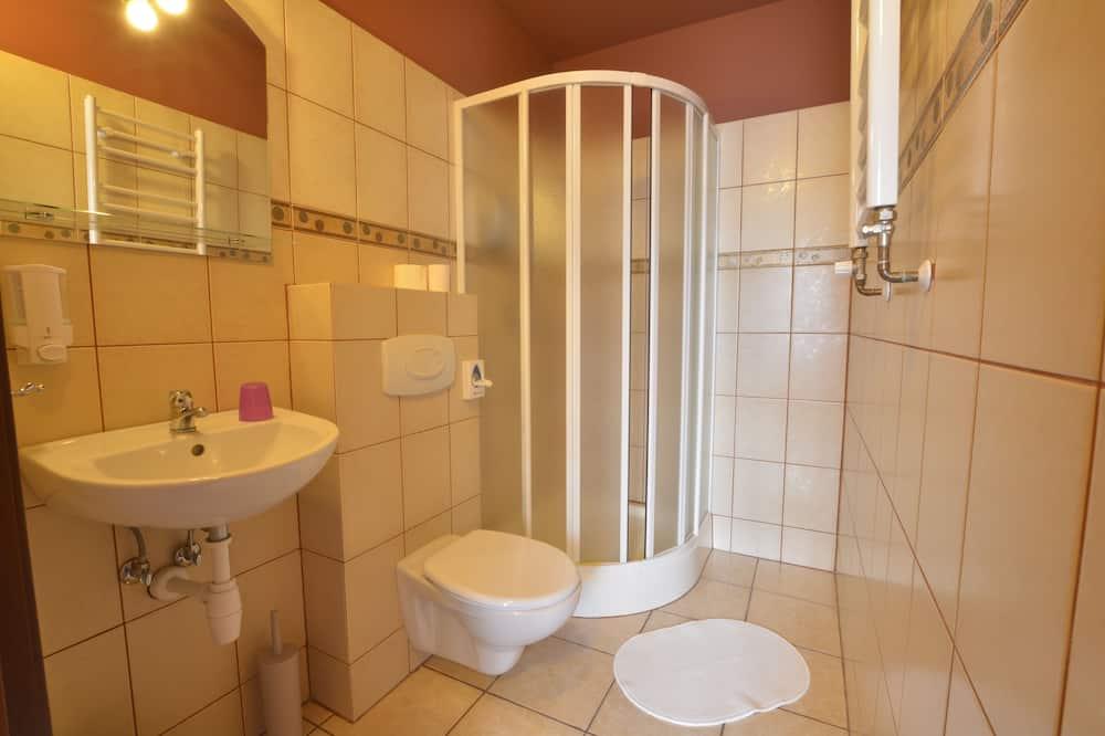Апартаменты, 2 односпальные кровати, для некурящих - Ванная комната
