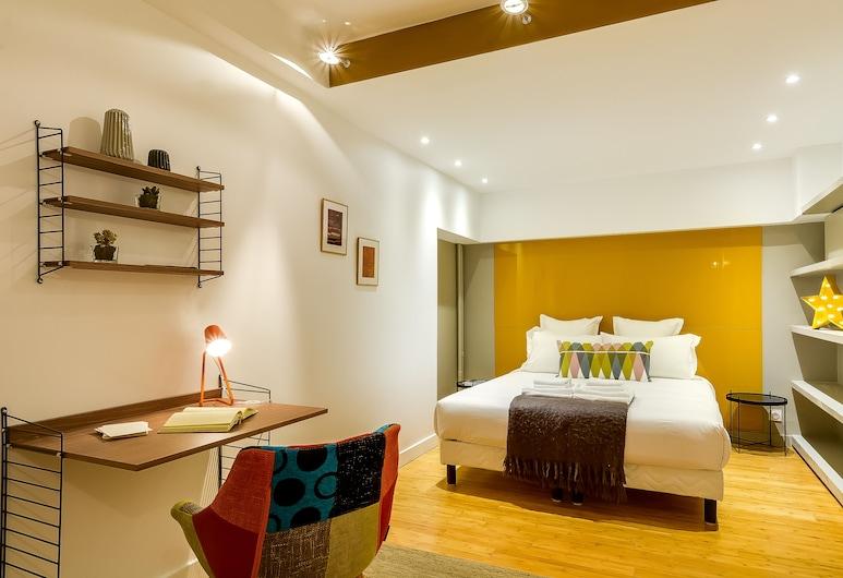 Le Vaugirard - 3 Bedrooms Apartment, Paris, Design-Apartment, Mehrere Betten, Nichtraucher, Zimmer