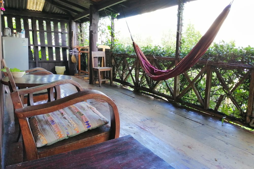 Bungalow with River View - Balcony View