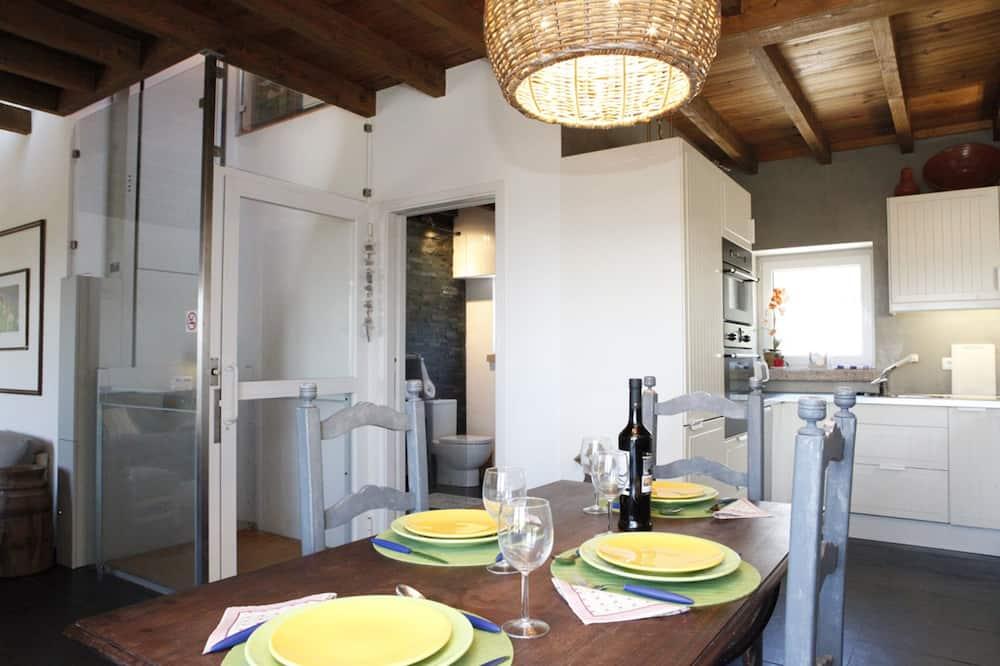 Vila, 2 spálne, nefajčiarska izba, terasa - Obývacie priestory