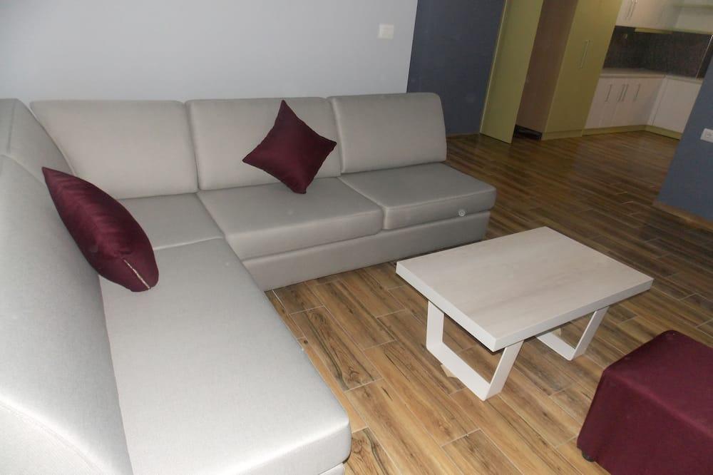 公寓, 1 間臥室, 非吸煙房 - 客廳