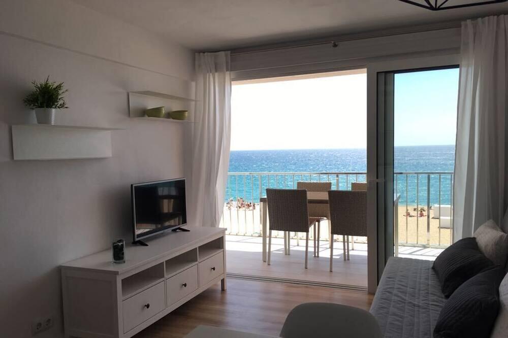 Külaliskorter, 1 magamistoaga, rõduga, vaade merele - Lõõgastumisala